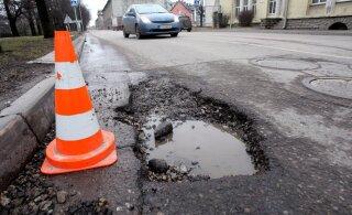 Какова реальная причина плохого состояния таллиннских дорог?