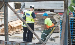 На стройплощадках в Пярну нашли украинских нелегалов