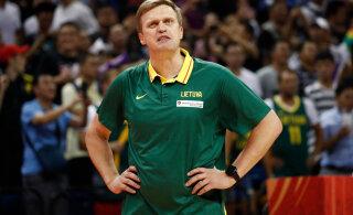Leedu korvpallikoondise peatreener pani ameti maha