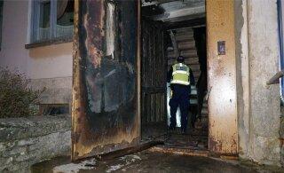 FOTOD | Kortermajas kaks elu võtnud põleng oli kardetavasti meelega süüdatud