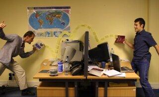 ВИДЕО | Несколько идей, как развлечься в офисе
