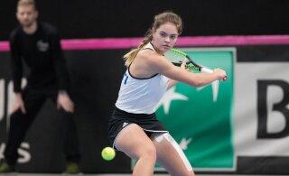 Kadriorus toimuval ITF-i turniiril on konkurentsi jäänud vaid üks Eesti noortennisist