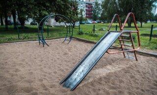 Ласнамяэ ищет смотрителей за игровыми площадками