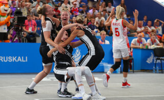 Баскетбол 3x3. У Эстонии серебро Европейских игр