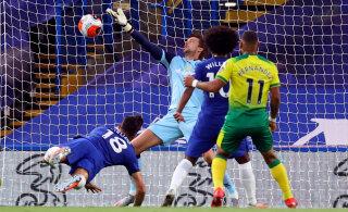 Olulise võidu saanud Chelsea astus suure sammu Meistrite Liigale lähemale