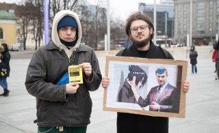 FOTOD | Internetivabaduse kaitsjad avaldasid vastuolulise autoriõiguste direktiivi vastu meelt