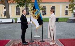 FOTOD | Saksamaa, Austria ja Prantsusmaa suursaadikud andsid Võru keskväljakul Eesti presidendile volikirjad