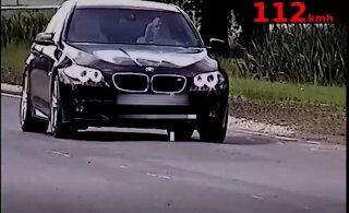 ВИДЕО: В Таллинне водитель превысил скорость на 70 км/ч, чтобы механик оценил работу подшипника