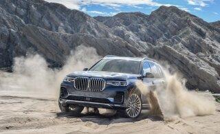 Kas hiiglaslikust linnamaasturist saab BMW lipulaev?