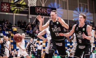 FOTOD ja TIPPHETKED | Hädasti võitu vajanud Tartu Ülikool seljatas kindlalt Rakvere Tarva