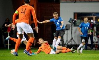 Eesti jalgpallikoondis mängib taas mitteametlikule MM-tiitlile