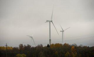"""""""Nagu 30 rootoritega teletorni"""". Läänemaa hiiglaslike tuulikutega tuulepargile tõmmatakse pidurit"""