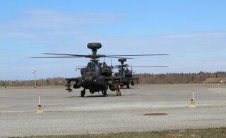 Liitlaste lennukid ja kopterid harjutavad Eesti õhuruumis