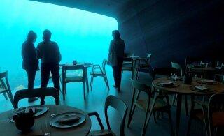 ФОТО: В Норвегии открывается первый подводный ресторан Европы с панорамными видами