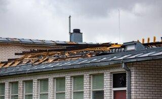 ФОТО | В летней столице шторм снес крышу легендарного ночного клуба Sunset