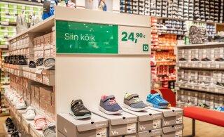 Kas Deichmann raputab Eesti jalatsiturgu?