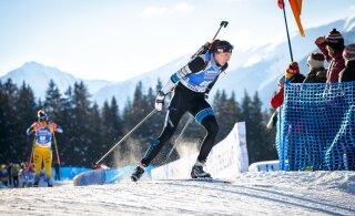 КМ по биатлону | Лучшая гонка в жизни: эстонская спортсменка вошла в первую десятку!