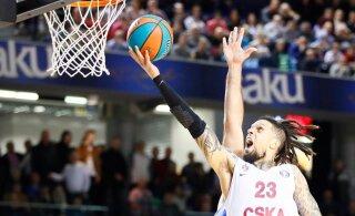 CSKA, Anadolu Efes ja Barcelona teenisid võõrsil võidulisa