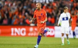 Härra Tagasihodlik: Sneijder võinuks olla enda sõnul Ronaldo ja Messi tasemel, kuid ta lihtsalt ei tahtnud
