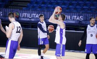 DELFI FOTOD | Selgus Eesti korvpallikoondise lõplik koosseis mänguks Venemaa vastu