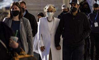 FOTOD | Vapustavalt lihtne ja šikk! Lady Gaga valitud inauguratsiooni päeva rõivad sümboliseerivad uut algust