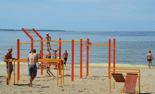В прибрежной зоне Пирита будут построены сцена с трибунами, променад и многое другое
