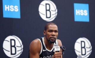 Kevin Durant kustutas lootused lõplikult: mina sellel hooajal ei mängi