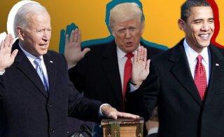 Три президента: в чем отличия инаугурации Байдена от Трампа и Обамы