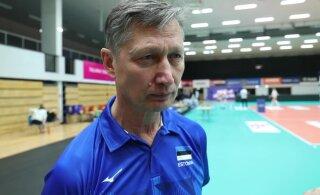 Aasta võrkpallitreener Andrei Ojamets tiitlist, isiklikust koroonakogemusest, finaali kaotusest ja Eesti koondise väljavaadetest