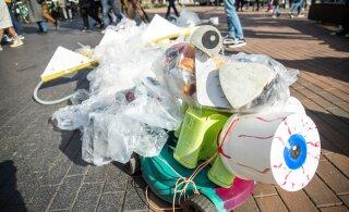 Väino Ubina: kuni plastik kellegi kukrut paisutab, ei muutu midagi