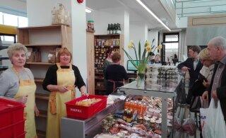 Lõunakeskuse taluturg avas filiaali Tartu turuhoones