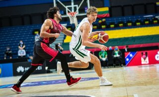 Leedu korvpallikoondis suutis kodusaalis krahhi vältida