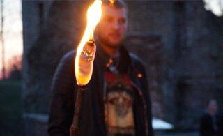 FOTOD | Jüriöö tuli hakkas Paidest liikuma