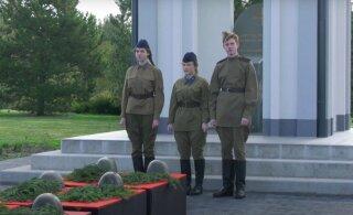 ВИДЕО | В Маарду сегодня торжественно предали земле останки 151 солдата
