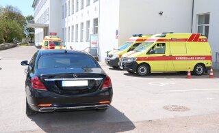 Курессаареская больница запрещает посещение больных