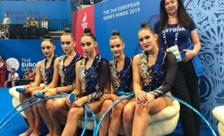 ВИДЕО: Сенсация в художественной гимнастике. Россия проиграла групповые упражнения, Эстония — 7-я
