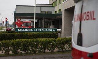 В Таллинне попал под машину четырехлетний ребенок