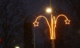 ФОТОНОВОСТЬ | Что это? Рождественские украшения в Йыгева напоминают женский половой орган
