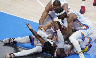 VIDEO | Lakers sai järjekordse kaotuse, Thunder võitis lõpusireeniga tabatud kolmesest