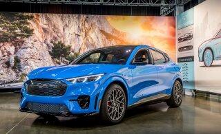 Tere tulemast Ford Mustang Mach-E, äge elektriauto, mille nimi meid segadusse ajab