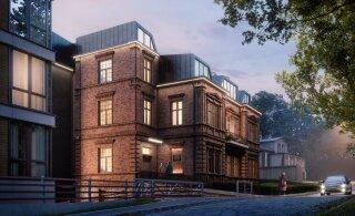 FOTOD | Tartu endisest kunstimuuseumist saab eksklusiivne korterelamu