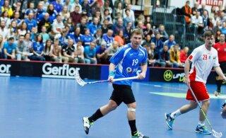 Eesti saalihokikoondis võttis koondise legendi hüvastijätumängus kindla võidu Hollandi üle