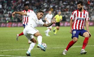 Koroonaviirusse nakatunud Madridi Reali jalgpallur jääb Manchester Cityga mängust eemale