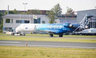 Руководитель Nordica: новых рейсов из Таллинна не планируем до тех пор, пока не будет принято решение о предоставлении государственной помощи