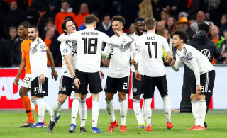 Saksamaa võitis põnevuskohtumises Hollandit, Põhja-Iirimaa tõusis alagrupi liidriks