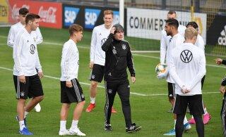 Сборная Германии несет потери перед игрой в Таллинне