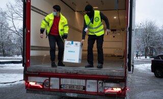 В Эстонию прибыла новая партия вакцины против COVID-19