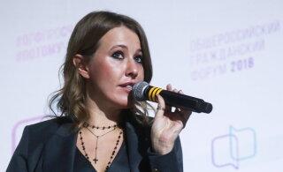 Ксения Собчак пришла на репетицию Максима Виторгана после объявления о разводе
