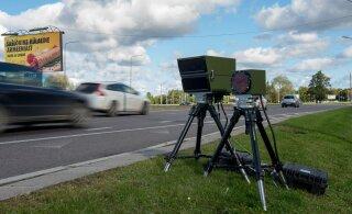 С помощью мобильных камер замера скорости полиция собрала рекордную сумму штрафов