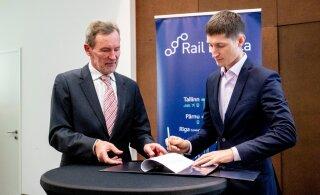 FOTOD ja VIDEO | Muuga sadamat hästi tundev Eesti ettevõte koostab Rail Balticu suurima kaubaterminali projekti